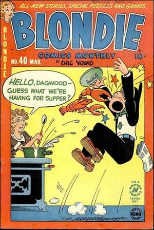 Blondie Comics Vol 1 40