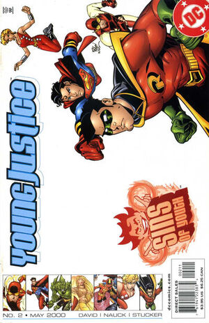 Young Justice Sins of Youth Vol 1 2