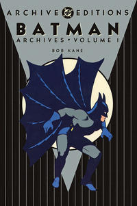 Cover for the Batman Archives Vol 1  Trade Paperback