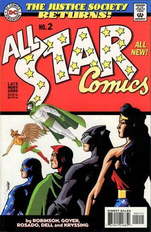 JSA Returns All-Star Comics Vol 1 2