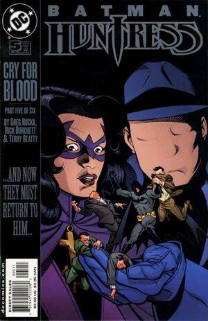Batman Huntress Cry for Blood Vol 1 5