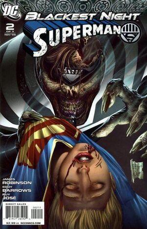 Blackest Night Superman Vol 1 2