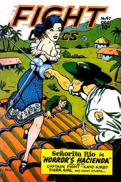 Fight Comics 47 Renée