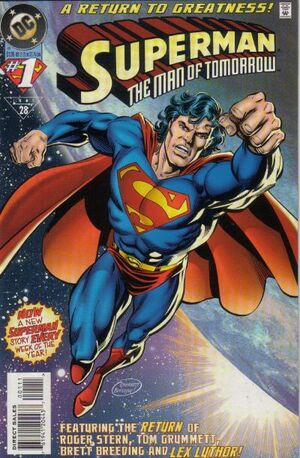 Superman Man of Tomorrow Vol 1 1