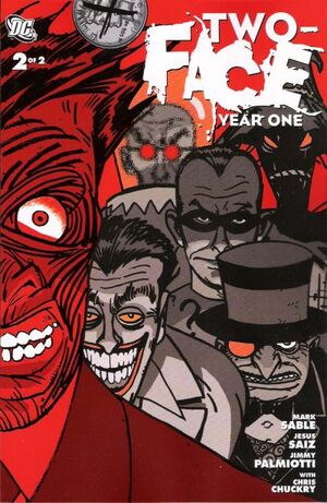 Two-Face Year One Vol 1 2