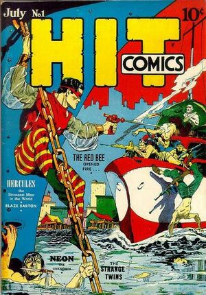 Hit Comics Vol 1 1