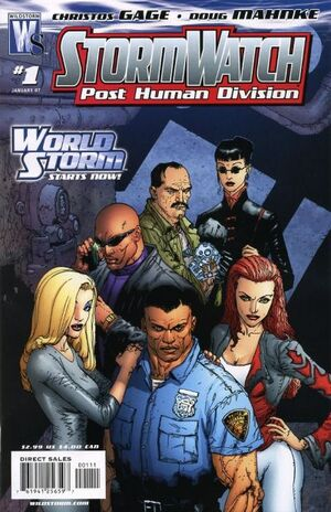 Stormwatch Post Human Division Vol 1 1