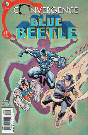 Convergence Blue Beetle Vol 1 1