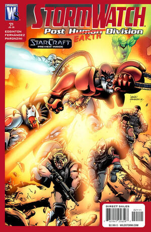 Stormwatch Post Human Division Vol 1 21