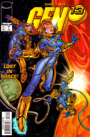 Cover for Gen¹³ #21 (1997)