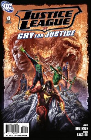 Justice League Cry for Justice Vol 1 4