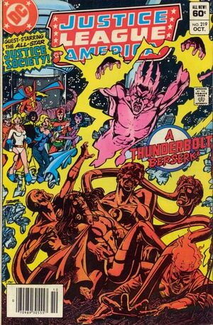 Justice League of America Vol 1 219