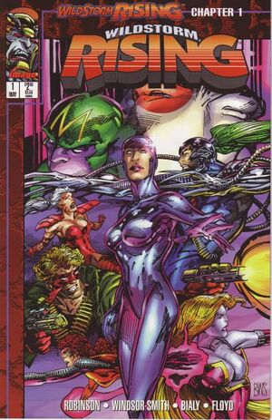 Cover for WildStorm Rising #1 (1995)