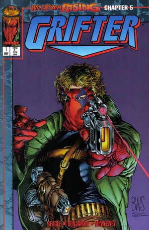 Cover for Grifter #1 (1995)