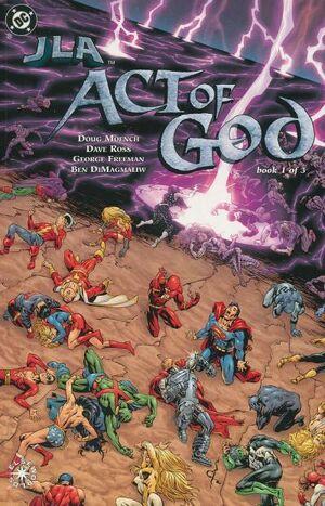 JLA Act of God Vol 1 1