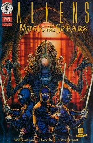Aliens Music of the Spears Vol 1 1