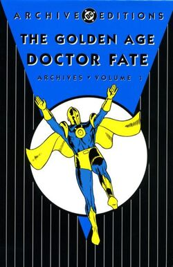 Cover for the Golden Age Doctor Fate Archives Vol 1 1 Trade Paperback