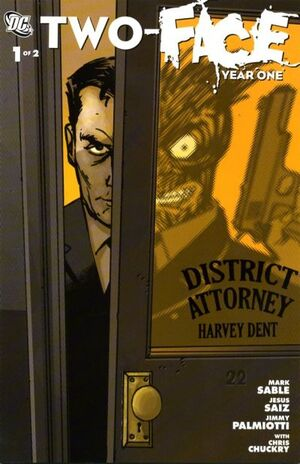 Two-Face Year One Vol 1 1