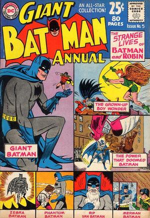Batman Annual Vol 1 5