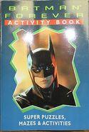 Batman Forever Activity Book