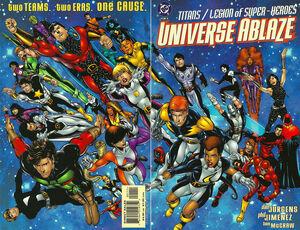 Titans Legion of Super-Heroes Universe Ablaze Vol 1 1