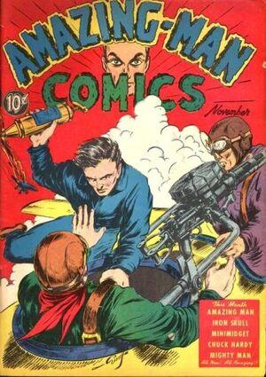 Amazing Man Comics Vol 1 7