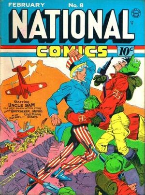 National Comics Vol 1 8