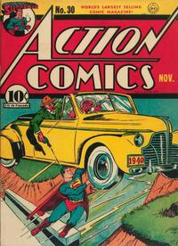 Action Comics Vol 1 30