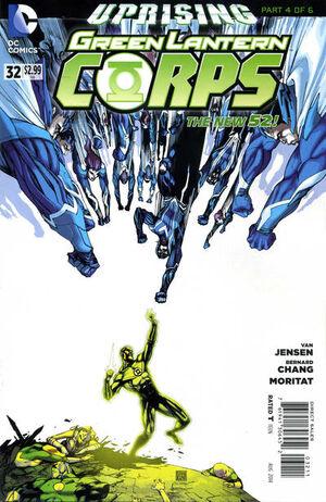 Green Lantern Corps Vol 3 32