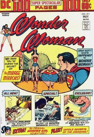Wonder Woman Vol 1 211