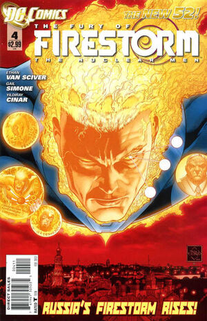 Fury of Firestorm The Nuclear Men Vol 1 4