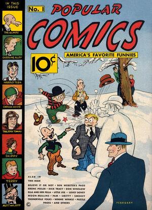 Popular Comics Vol 1 1