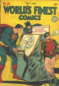 World's Finest Comics Vol 1 23