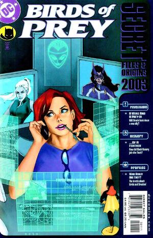 Birds of Prey Secret Files and Origins Vol 1 2003
