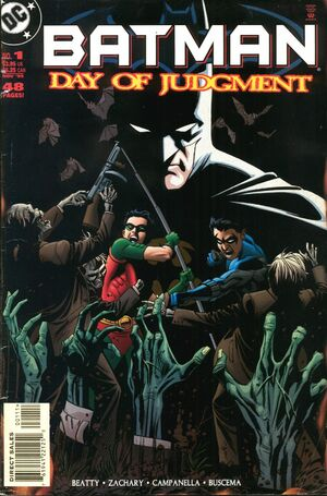 Batman Day of Judgment Vol 1 1