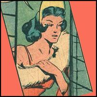 Queen of Diamonds (Earth-MLJ) of Pep Comics Vol1 09