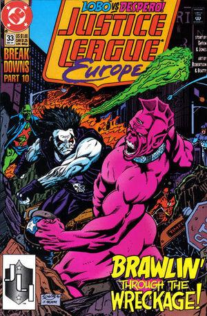 Justice League Europe Vol 1 33