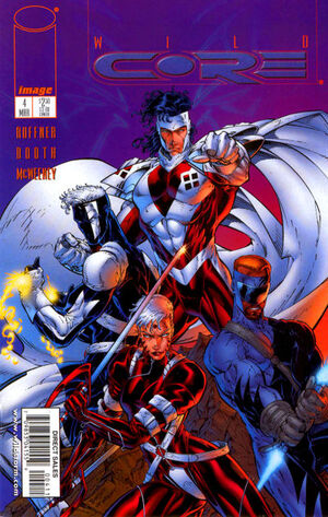 Cover for Wildcore #4 (1998)