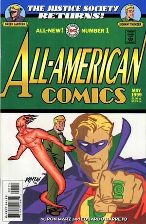 JSA Returns All-American Comics Vol 1 1