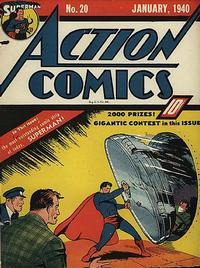 Action Comics Vol 1 20