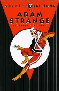 Cover for the Adam Strange Archives Vol 1 1 Trade Paperback