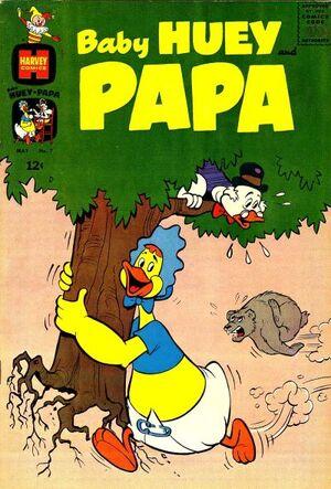 Baby Huey and Papa Vol 1 7