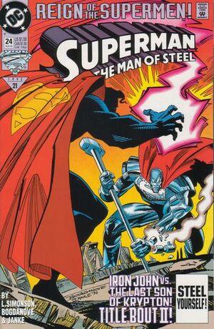 Superman Man of Steel Vol 1 24