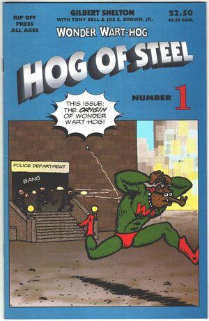 Wonder WartHog Hog of Steel Vol 1 1