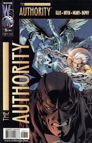 Cover for The Authority #8 (1999)