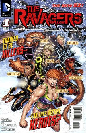 Ravagers Vol 1 1
