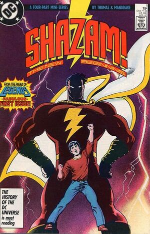 Shazam The New Beginning Vol 1 1