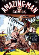 Amazing Man Comics Vol 1 21