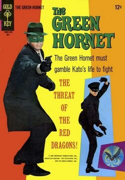 The Green Hornet cover