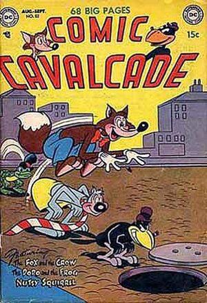 Comic Cavalcade Vol 1 52